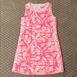 LILLY PULITZER- NWT Coral Reef Print Shift Dress